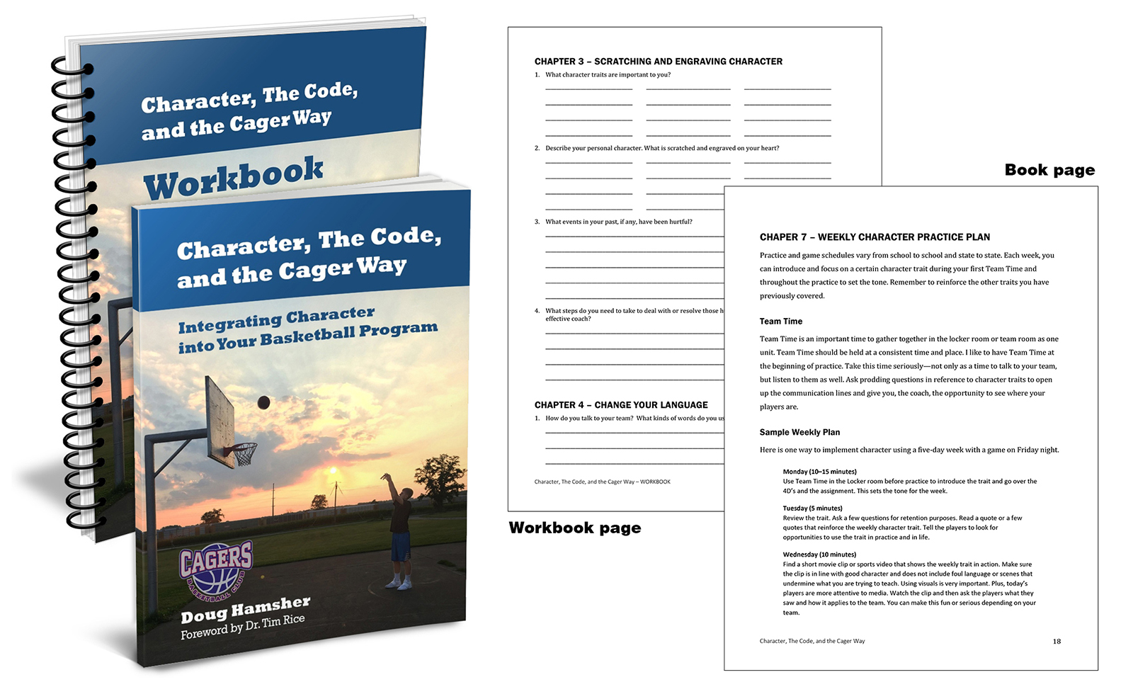 Editing and Layout – Character, The Code, and the Cager Way