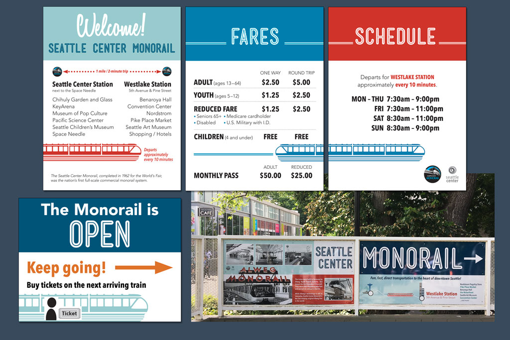 Signage – Seattle Monorail