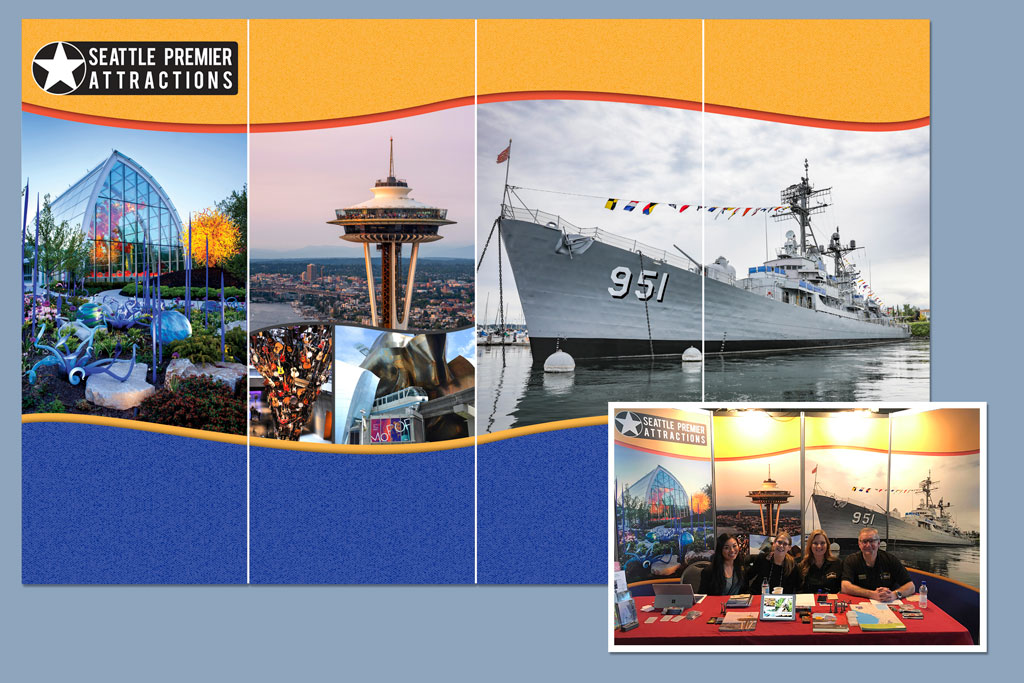 2019 Conference Display – Seattle Premier Attractions