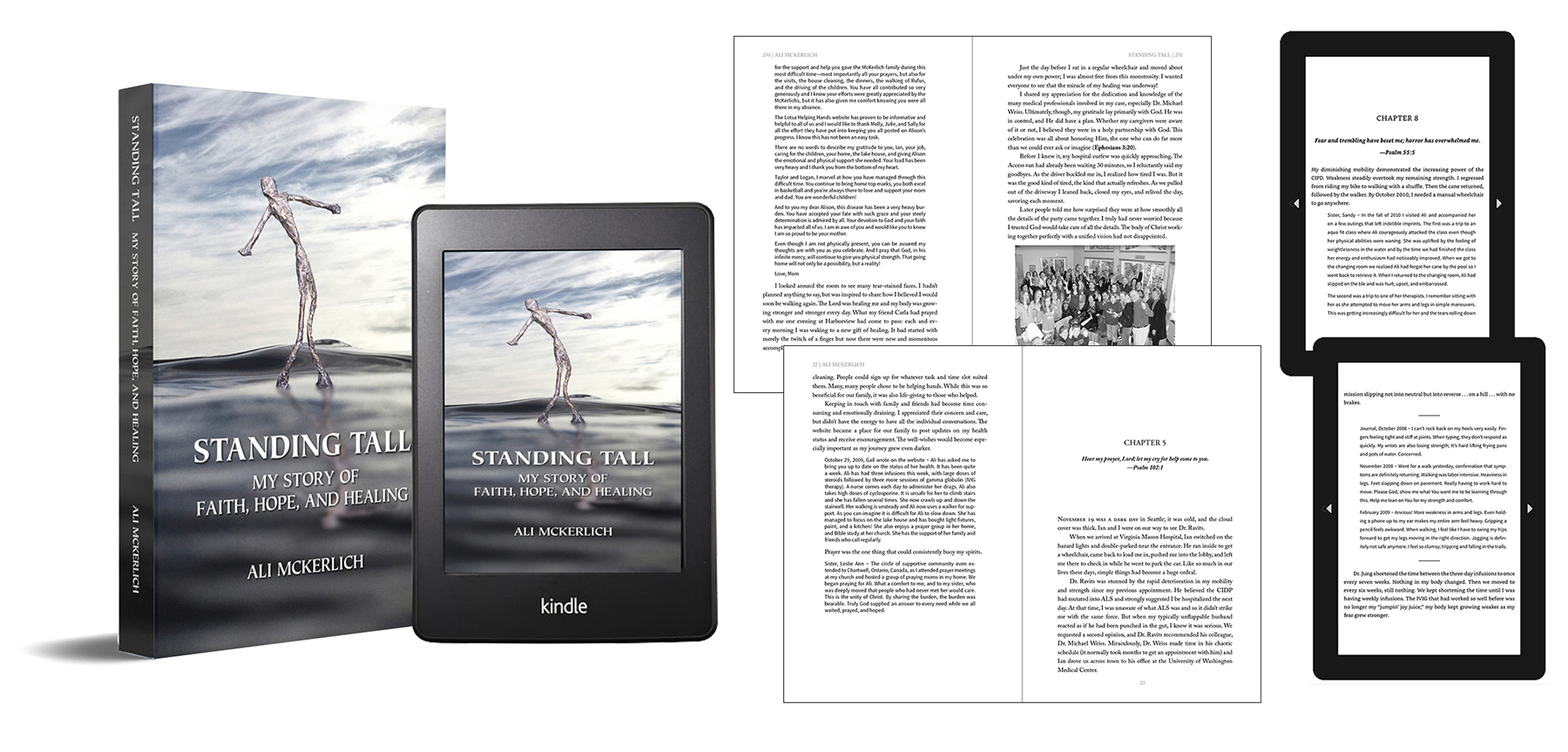 Editing and Book Design – Standing Tall