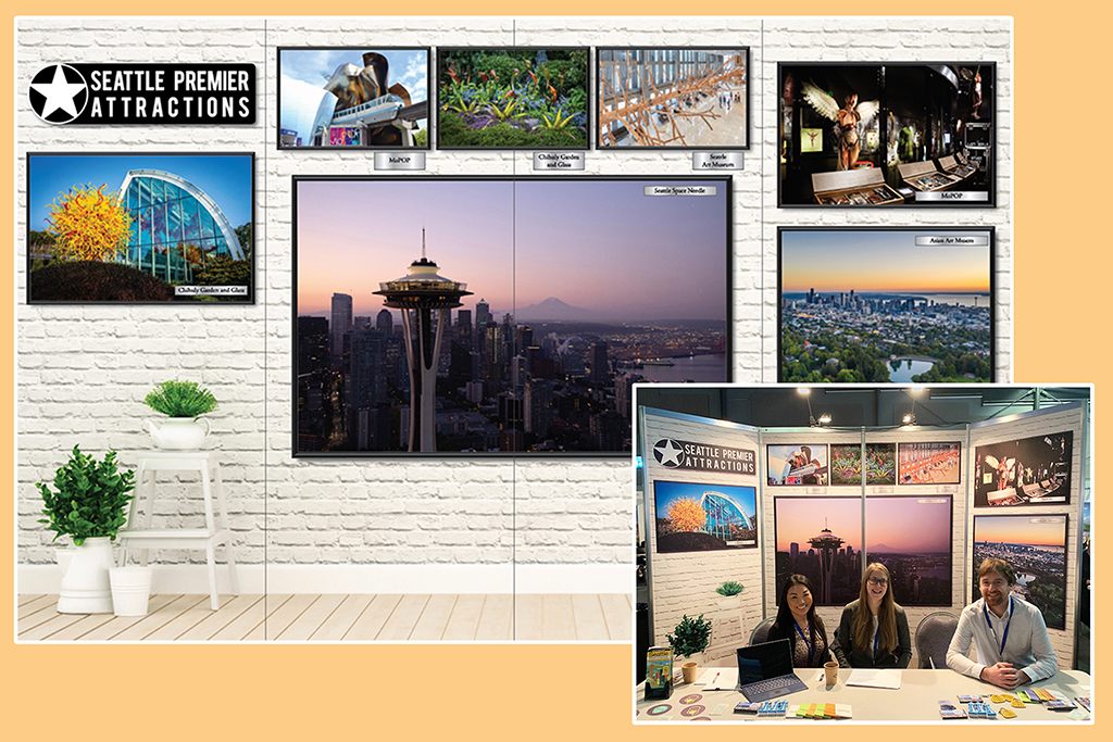 2020 Conference Display – Seattle Premier Attractions