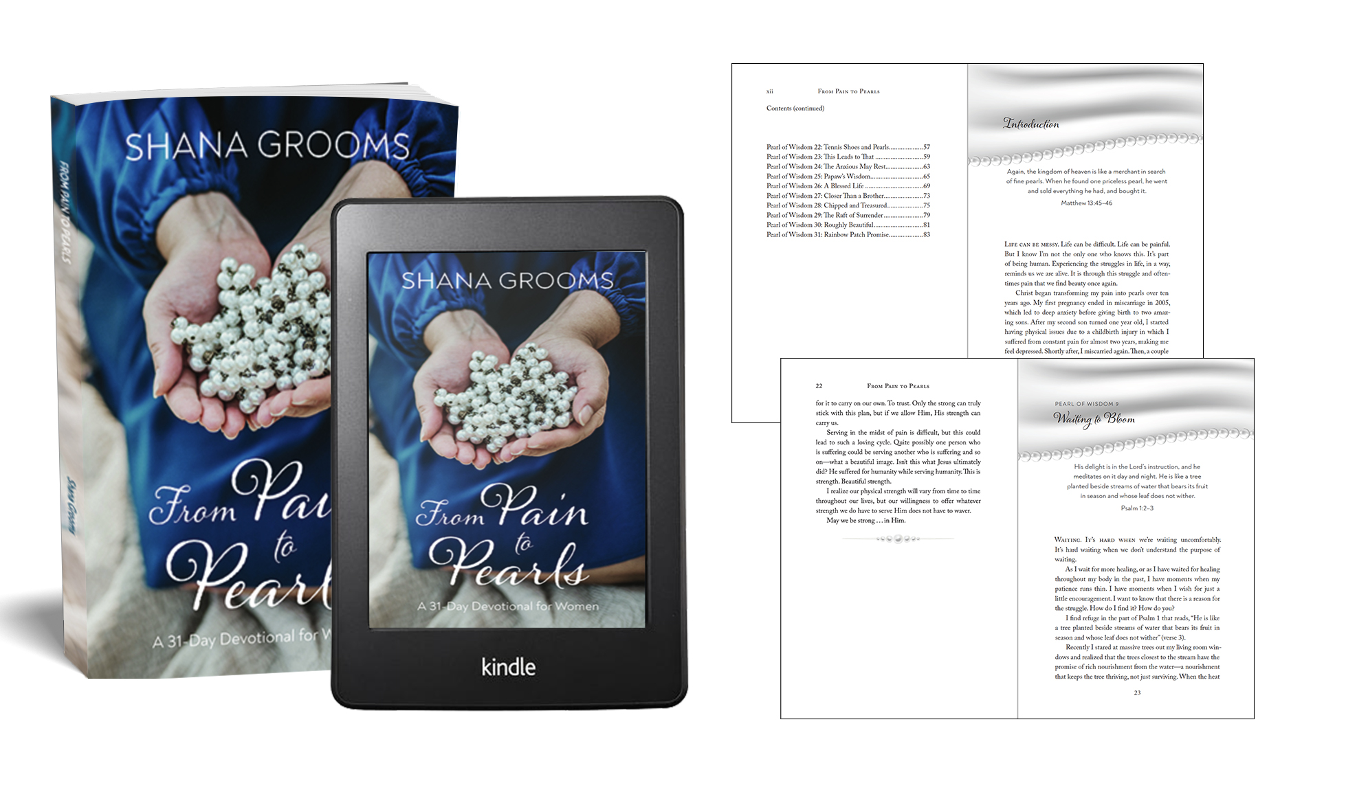 Book Design – From Pain to Pearls