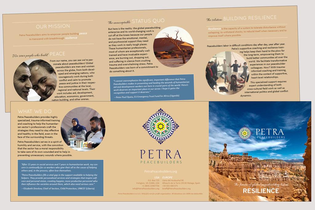 Brochure – Petra Peacebuilders