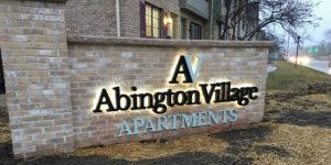 Abington Village Logo